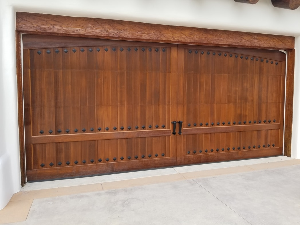 Garage door installation in Tustin