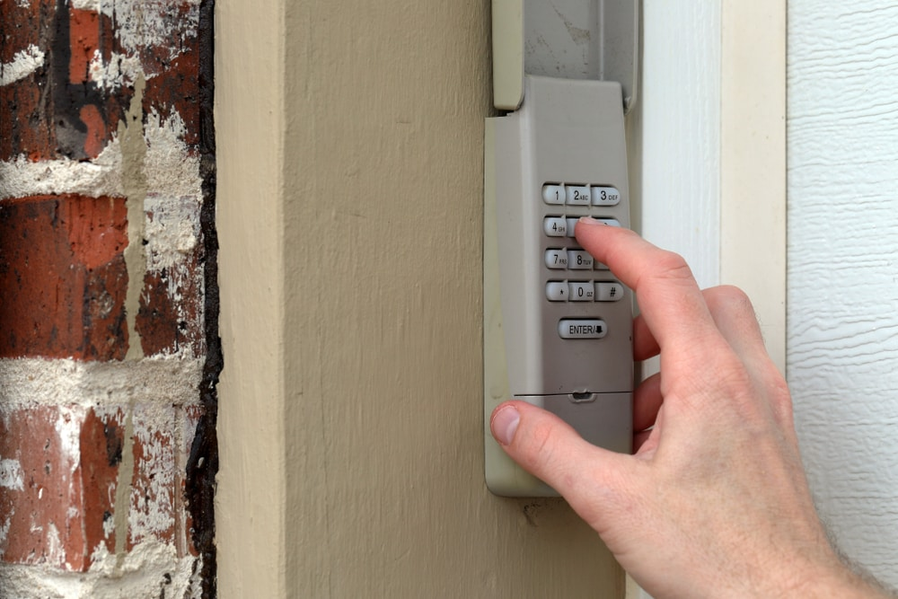 Electronic keypad garage door remotes in Laguna Hills